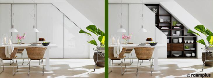 raumplus Systeme bei ERNST Küchen und Raumgestaltung