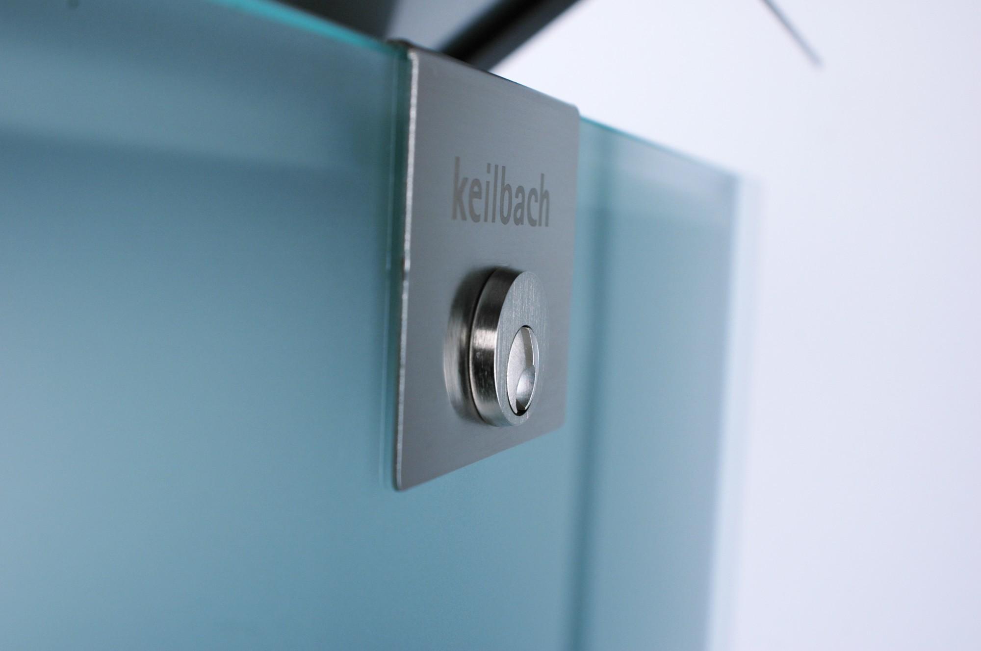 keilbach design briefkasten glasnost glass. Black Bedroom Furniture Sets. Home Design Ideas