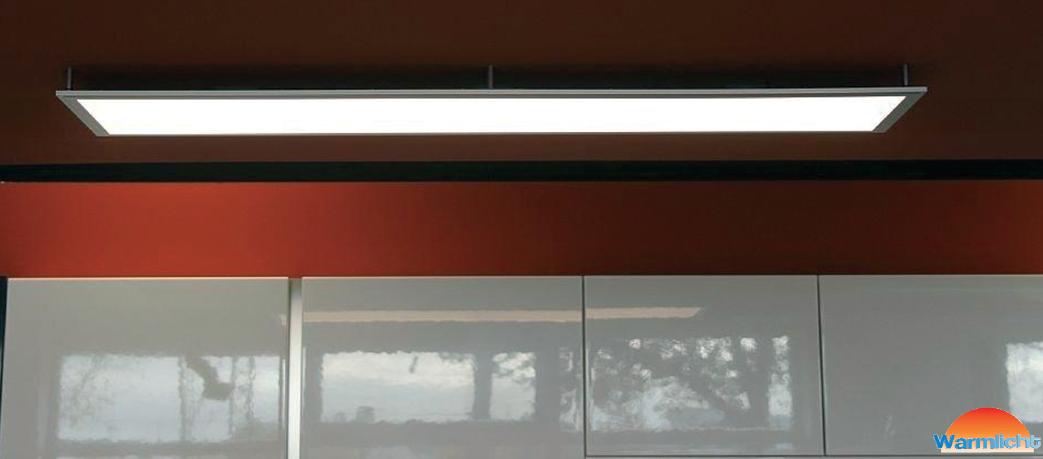 led fl chenleuchte panel ultraslim ebay. Black Bedroom Furniture Sets. Home Design Ideas