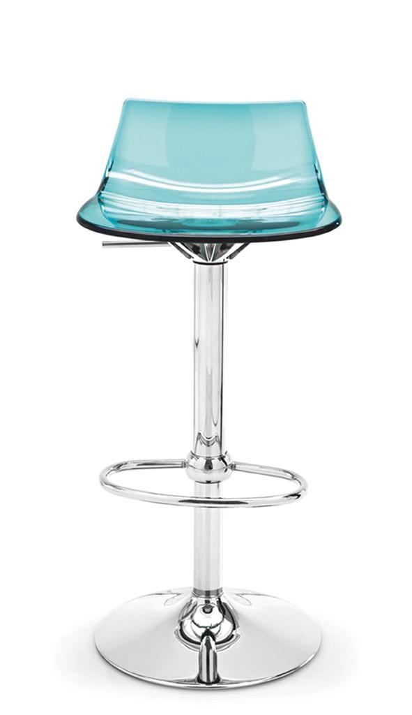 barhocker dizzy h h henverstellbar acryl blau. Black Bedroom Furniture Sets. Home Design Ideas