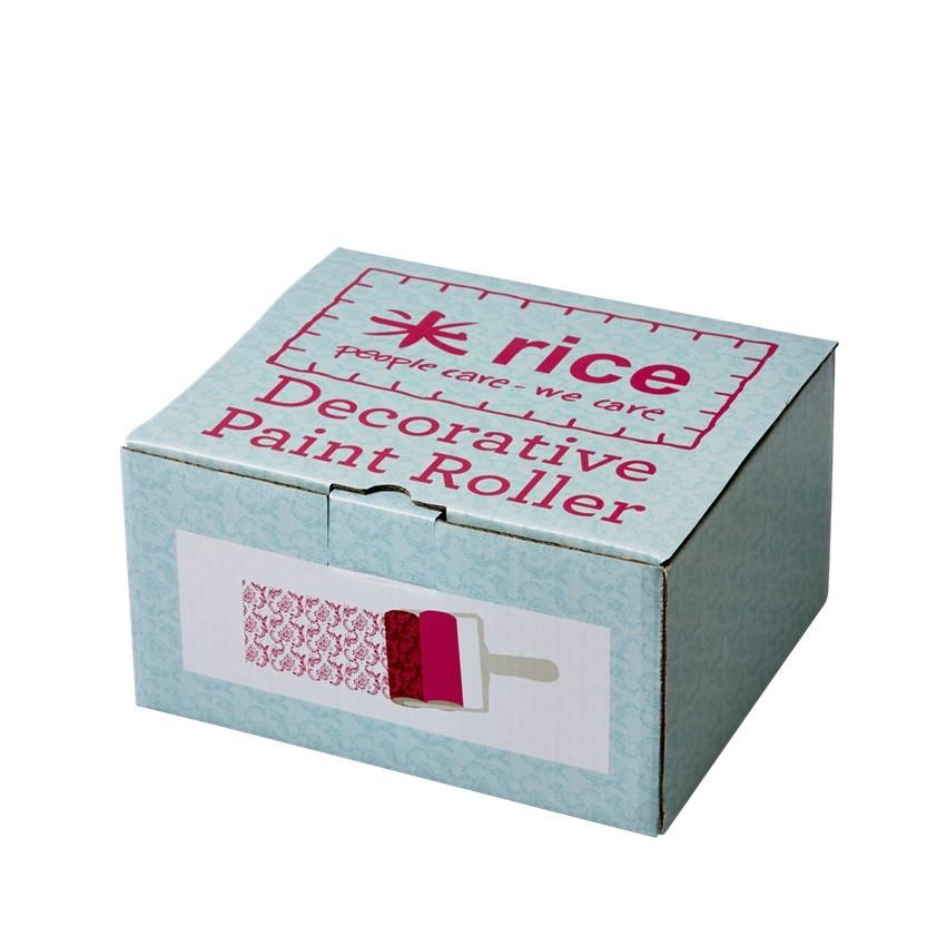 rice farbrolle f r muster in drei varianten zum dekorieren